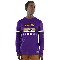 Men's Majestic Baltimore Ravens Power Hit Tee