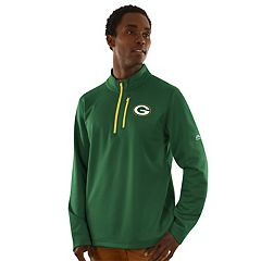 Men's Majestic Green Bay Packers Across the Scoreboard Pullover