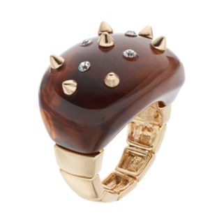 Jennifer Lopez Studded Stretch Ring