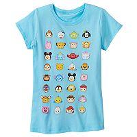 Disney's Tsum Tsum Girls 7-16 Friends Glitter Graphic Tee