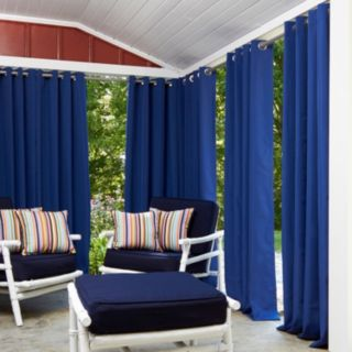 Greendale Home Fashions 1-Panel Outdoor Curtain
