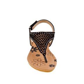 Petalia Toddler Girls' Cutout Slingback Sandals
