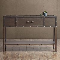 INK+IVY Benicia Industrial Console Table