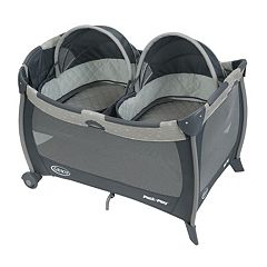 Graco Pack 'n Play Playard with Twins Bassinet by