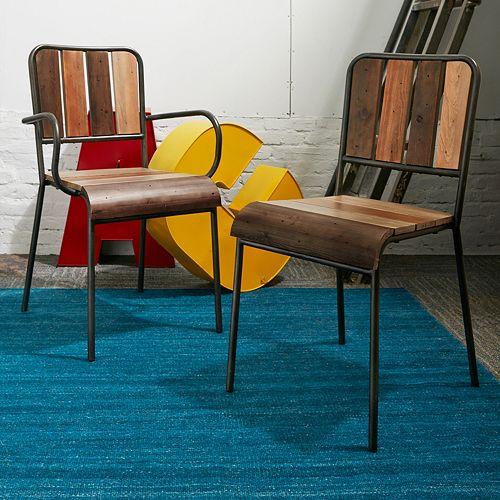 INK+IVY Renu Wood Dining Chair 2-piece Set