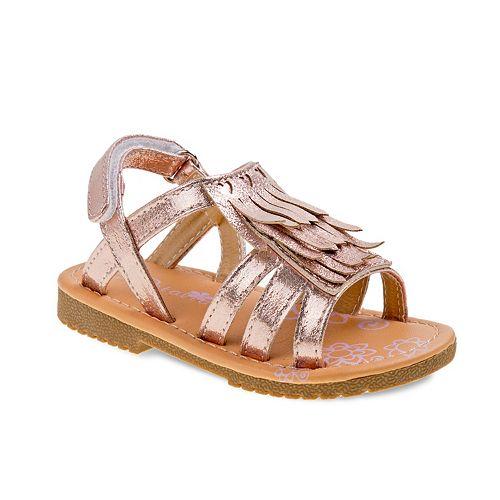 ea1757c265677d Petalia Toddler Girls  Fringe Sandals