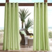 Madison Park 1-Panel Morro 3M Scotchgard Outdoor Curtain
