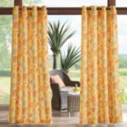 Madison Park 1-Panel Cambria 3M Scotchgard Outdoor Curtain