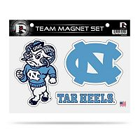 North Carolina Tar Heels Team Magnet Set