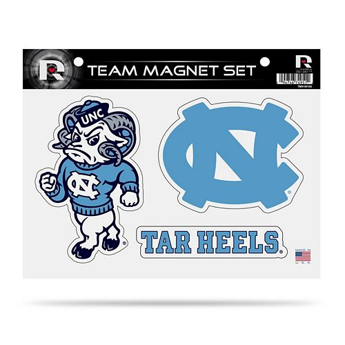 North Carolina Tar Heels Team Magnet Set