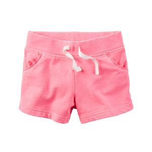 Girls 4-8 Carter's Knit Shorts