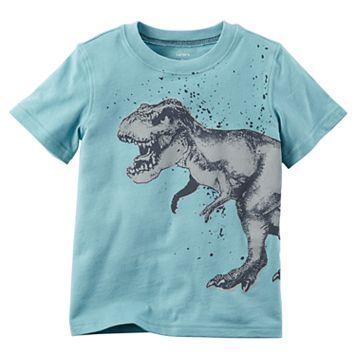 Baby Boy Carter's Dinosaur Short Sleeved Graphic Tee