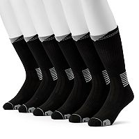 Big & Tall Wilson 6-pack Performance Crew Socks