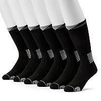 Big & Tall Wilson 6-pack Performance Crew Socks
