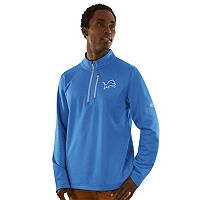 Men's Majestic Detroit Lions Across the Scoreboard Pullover