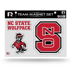 North Carolina State Wolfpack Team Magnet Set