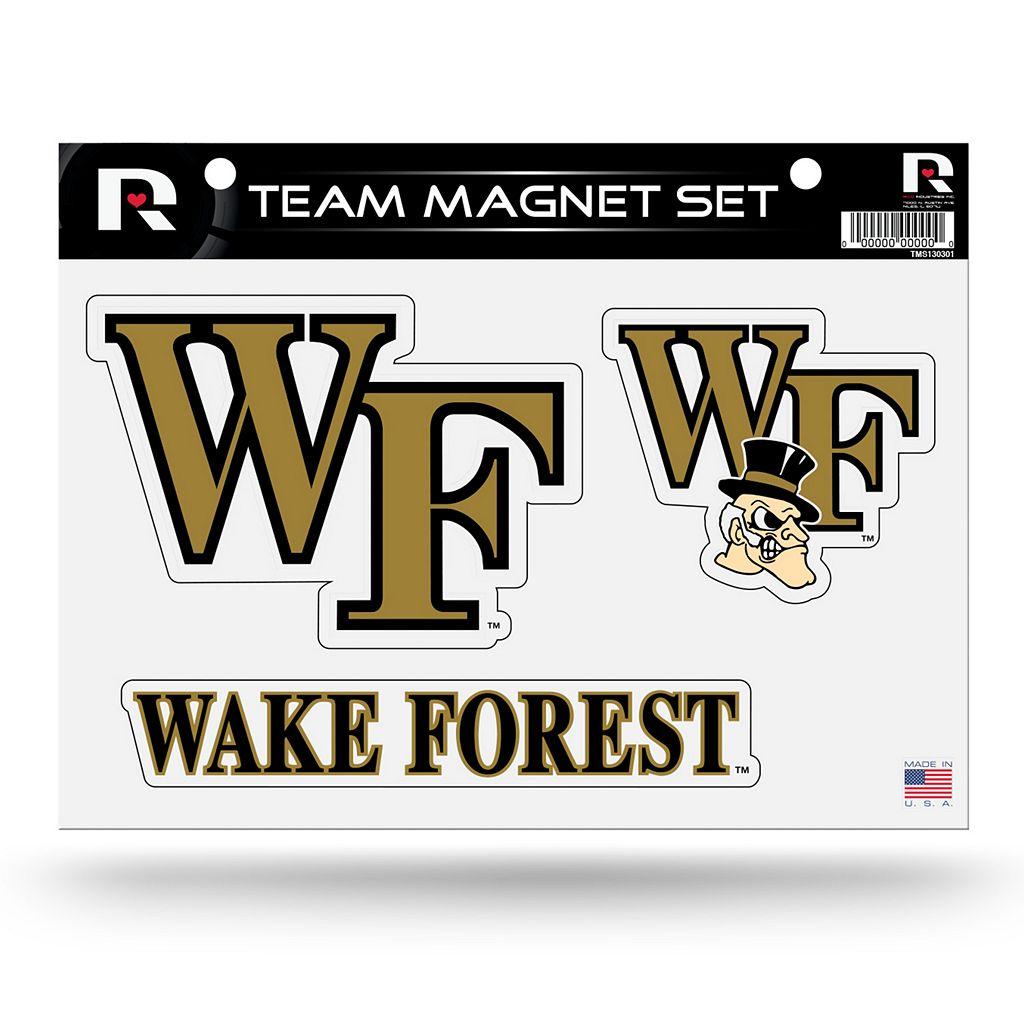 Wake Forest Demon Deacons Team Magnet Set