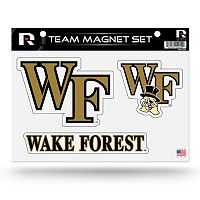Wake Forest Demon Deacons Team Magnet Set