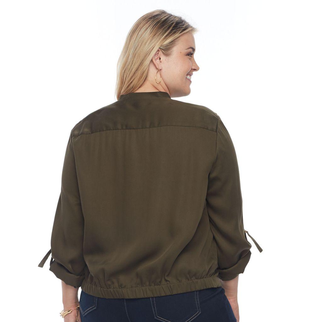 Plus Size Apt. 9® Utility Jacket