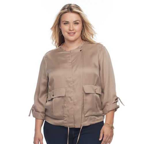 Plus Size Apt. 9® Utility Jacket