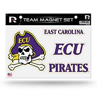 East Carolina Pirates Team Magnet Set