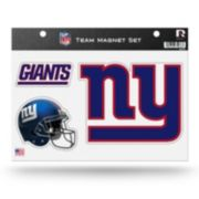 New York Giants Team Magnet Set