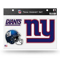 New York Giants Team Magnet Set