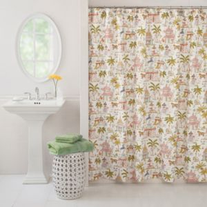 Haute Girls Safari Shower Curtain