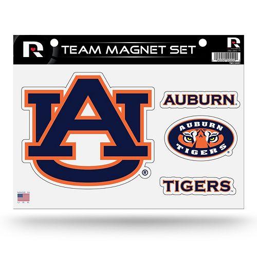 Auburn Tigers Team Magnet Set