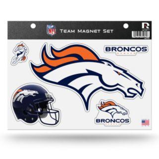 Denver Broncos Team Magnet Set