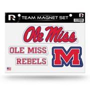 Ole Miss Rebels Team Magnet Set