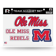 Ole Miss Rebels Team Magnet Set
