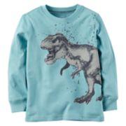 Baby Boy Carter's Dinosaur Long Sleeved Graphic Tee