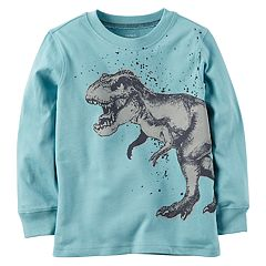 Baby Boy Carter's Dinosaur Long Sleeved Graphic Tee