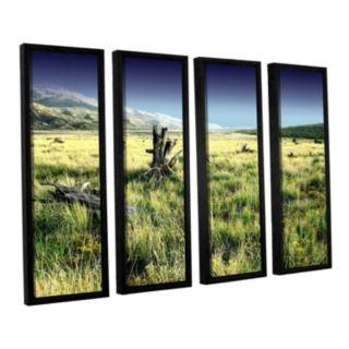 ArtWall Fall Creeps Framed Wall Art 4-piece Set