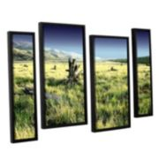 ArtWall Fall Creeps Framed Wall Art 4-piece Set