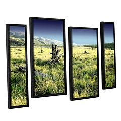 ArtWall Fall Creeps Framed Wall Art 4 pc Set