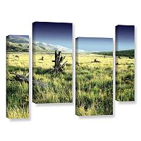 ArtWall Fall Creeps Canvas Wall Art 4 pc Set