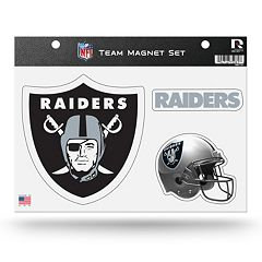 Oakland Raiders Team Magnet Set