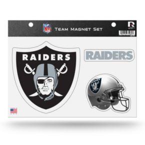 Oakland Raiders Team Magnet Set