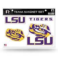 LSU Tigers Team Magnet Set