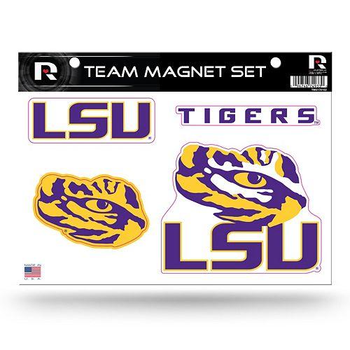 LSU Tigers Team Magnet Set