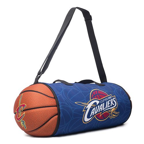 Cleveland Cavaliers Basketball to Duffel Bag ceb5fce63c
