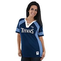 Women's Majestic Tennessee Titans Draft Me Fashion Top