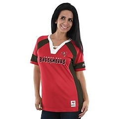 Women's Majestic Tampa Bay Buccaneers Draft Me Fashion Top