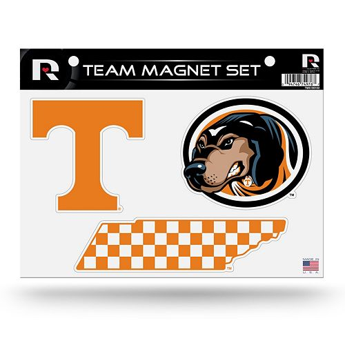 Tennessee Volunteers Team Magnet Set