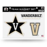 Vanderbilt Commodores Team Magnet Set