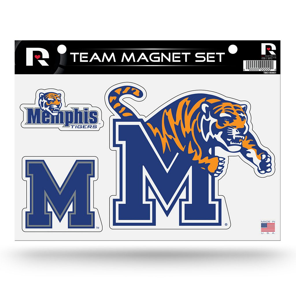 Memphis Tigers Team Magnet Set