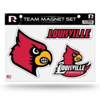 Louisville Cardinals Team Magnet Set