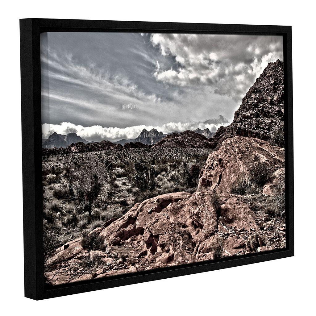 ArtWall Fingertip Afternoon Framed Wall Art